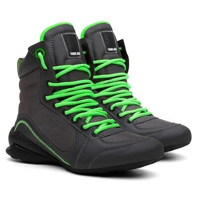 Gray/Neon Men Training Boots