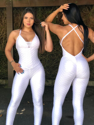 White Diamond Jumpsuit