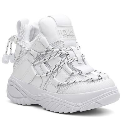 White High Bratz Sneakers