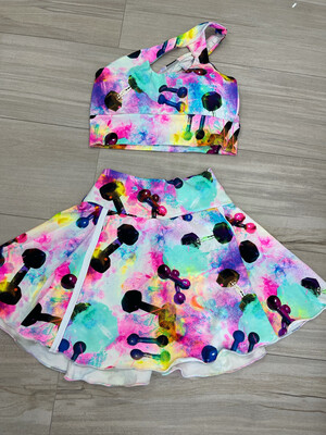 Diva Fit Skirt Set