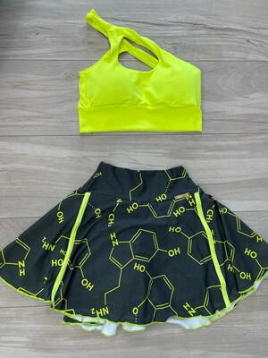 Chemistry Skirt Set