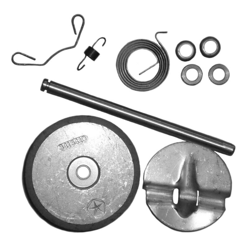 70-72 383HP-400HP-440HP Exhaust Manifold Heat Riser Repair Kit with Instructions