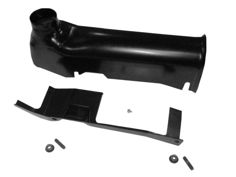 70-71 383HP-400HP-440HP Left Exhaust Manifold Heat Stove + Hardware