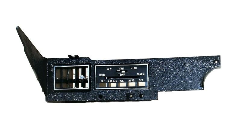 E-Body Rallydash Air Cond Control Panel + Inner Switch Bezel
