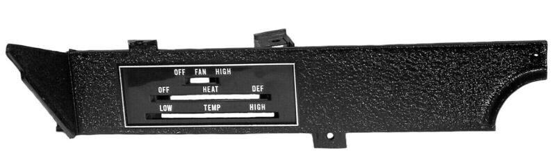 E-Body Rally Dash Heater Control Panel