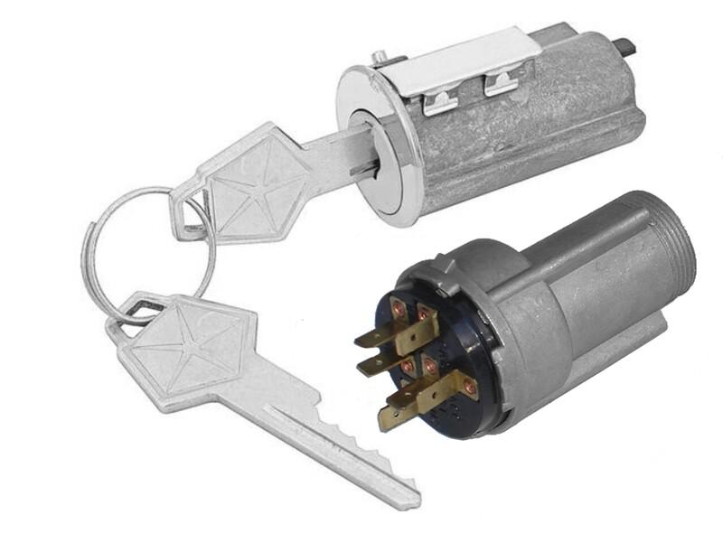 1969 Ignition Switch + Ignition Lock Cylinder W/Key
