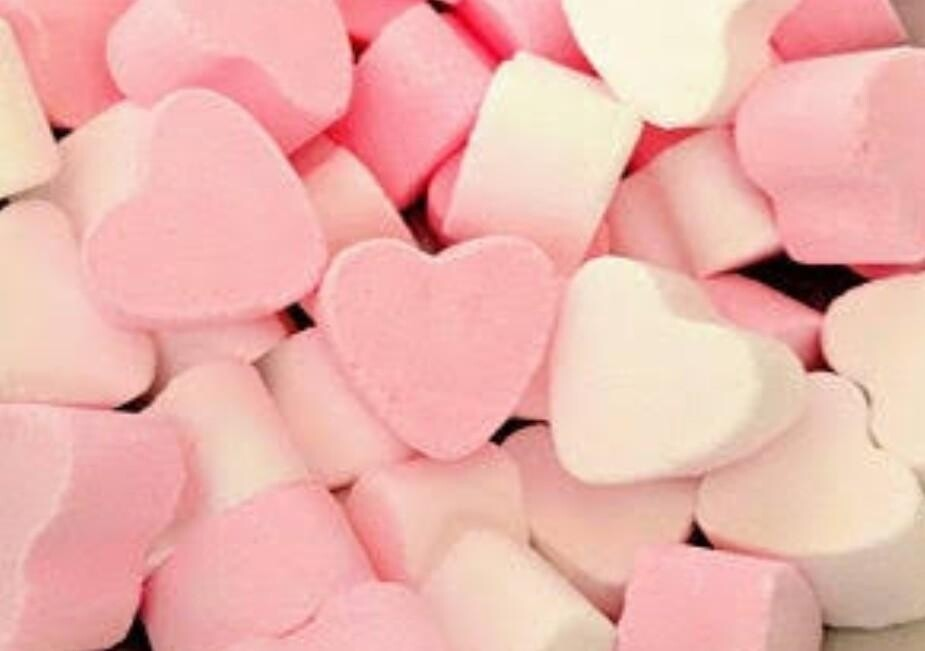 Mini Heart bath Fizzers