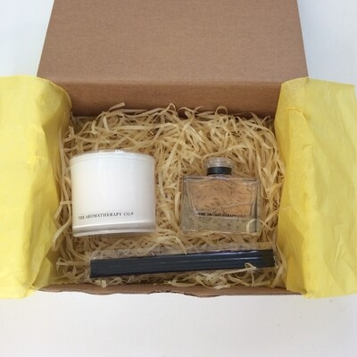 Aromatherapy Co. Candle and Diffuser Gift Pack