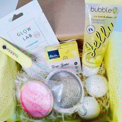 Yellow Bubble Bath Gift Pack