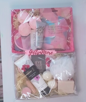 Ladies pink gift pack