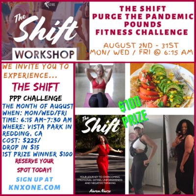 The Shift August PPP Fitness Challenge (REDDING)