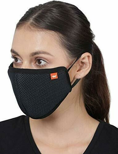 Wildcraft HypaShield Supermask Reusable Outdoor Protection Mask(Pack of 3)