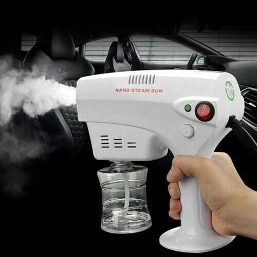Sattva Spray Handy Sanitizer Machine, High-performance Electric Eco-Friendly Disinfection Sprayer-Portable Fogger Gun for Indoor/Outdoor Hygiene.