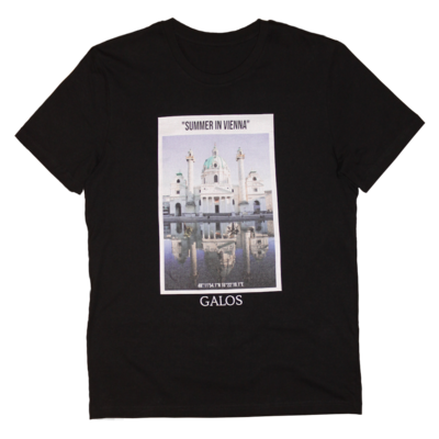 Carls T-Shirt - Black