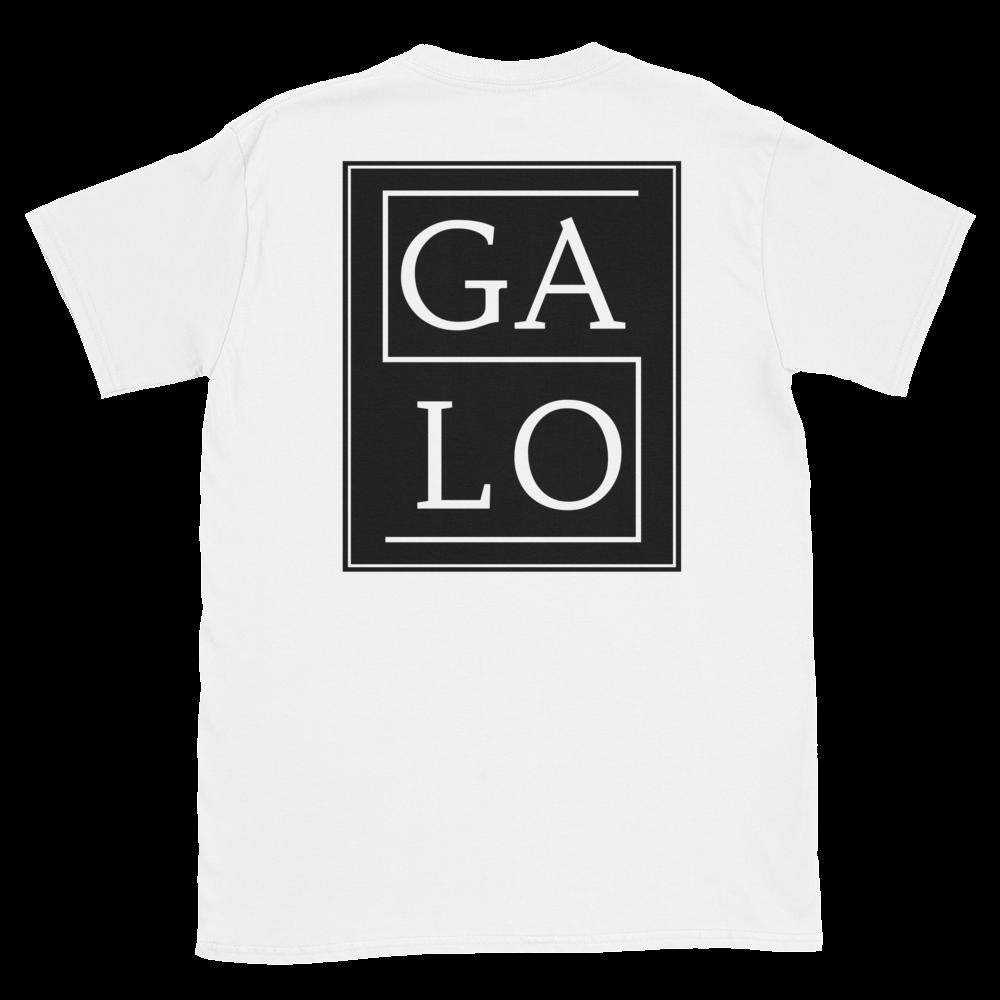 GALOS Back Print Unisex T-Shirt - White