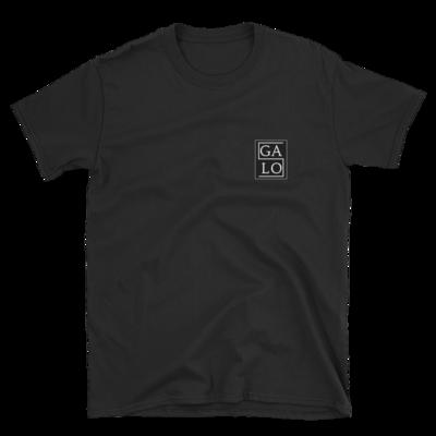 GALOS Chest Print T-Shirt - Black