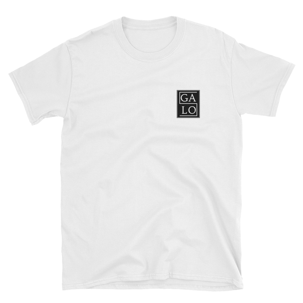 GALOS Chest Print T-Shirt - White