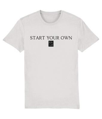 START YOUR OWN GALOS LOGO T-Shirt - Grey