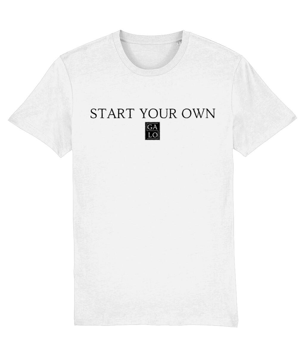 START YOUR OWN GALOS LOGO T-Shirt - White