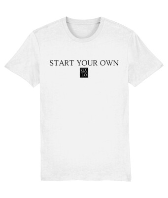 START YOUR OWN GALOS LOGO T-Shirt - White