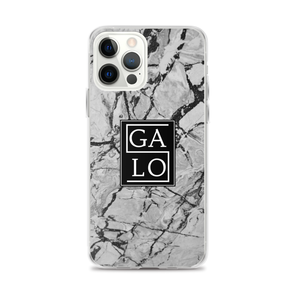 Marble Case White - iPhone