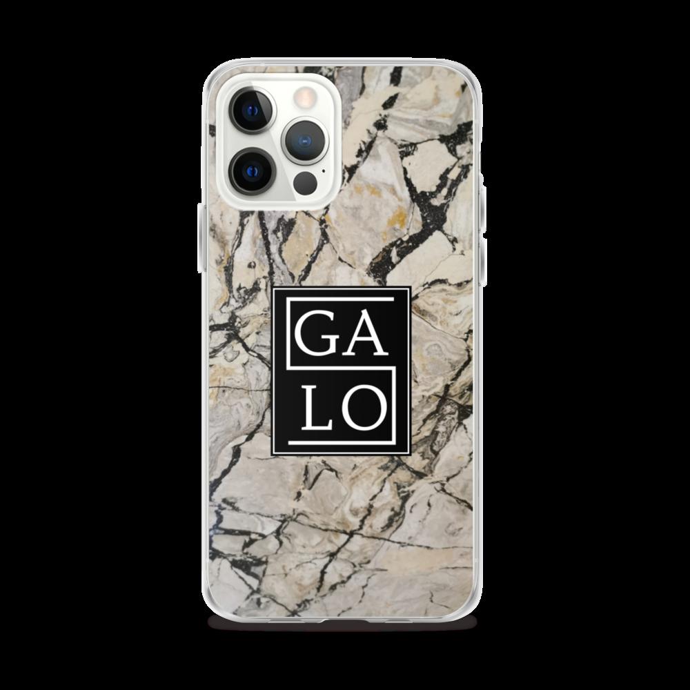 Marble Case Beige - iPhone