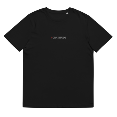 #GRATITUDE T-Shirt - Black