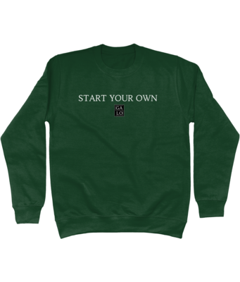 START YOUR OWN Unisex Sweater - Green
