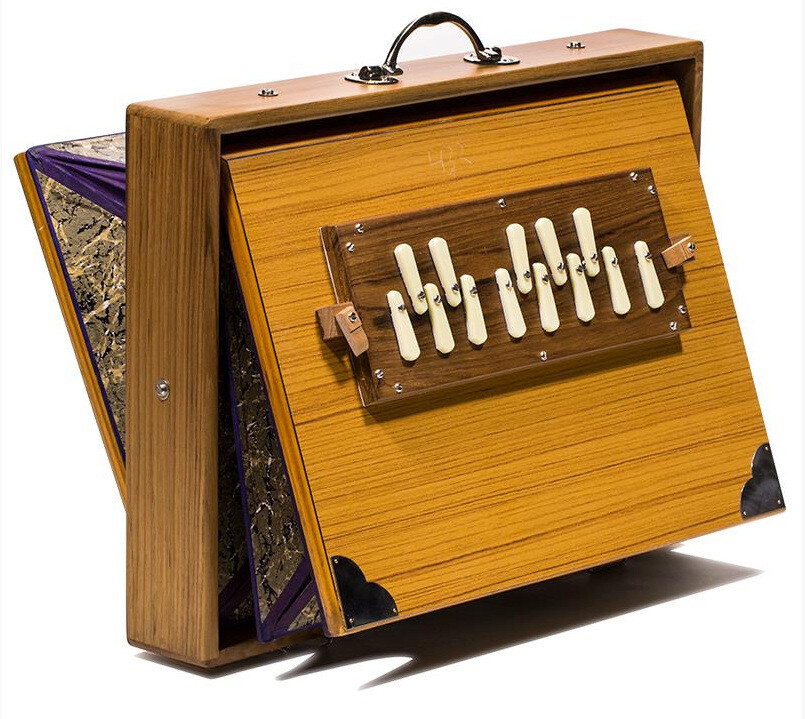 Shruti Box in low G - Monoj Kumar Sardar - large