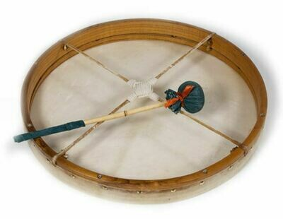 Sjamaan drum - geitenvel - Ø 36cm - opspanbaar