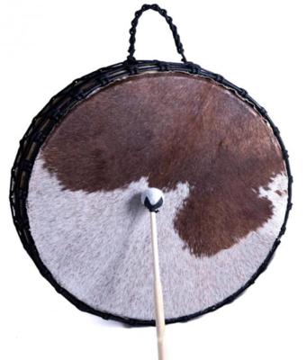 Dubbelzijdige Sjamaan drum - koeienvel - Ø 53cm