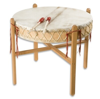 Powwow drum - koeienvel - Ø 65cm - H 16cm