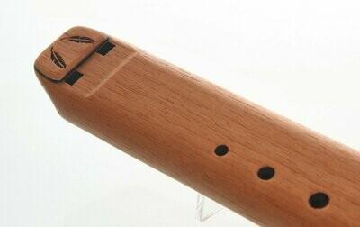 Nova dubbele fluit - G - Spanish Cedar