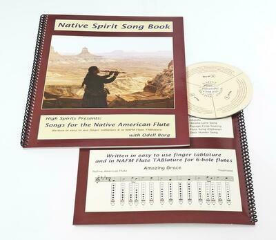 Native Spirit song book + CD - vol. 1