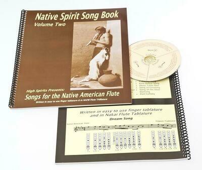 Native Spirit song book + CD - vol. 2