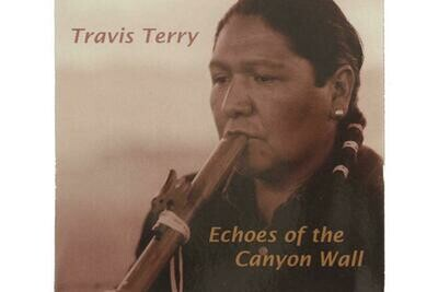 CD Echoes of the Canyon Wall - Travis Terry