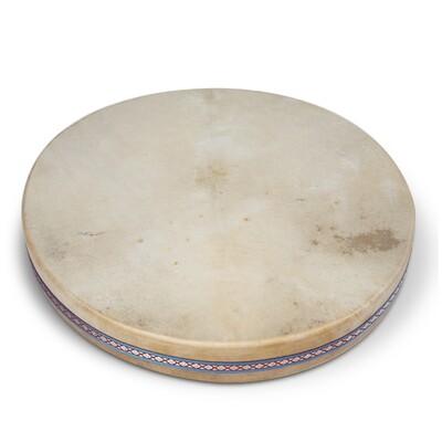 Ocean drum dubbel natuurvel Ø 41cm