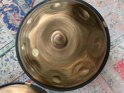 Spiral handpan stainless steel 1.2mm - B Celtic minor
