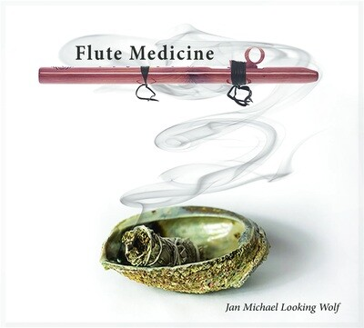 CD Flute Medicine - Jan Michael Looking Wolf