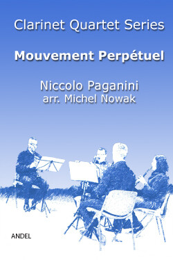 Mouvement Perpétuel - Niccolo Paganini - arr. Michel Nowak
