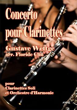 Concerto pour Clarinettes - Gustave Wettge - arr. Floride Clin