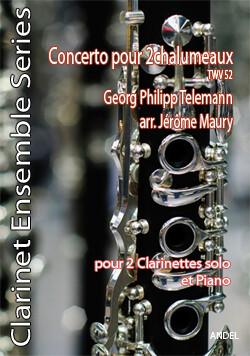 Concerto pour 2 chalumeaux - G. P. Telemann - arr. Jérôme Maury