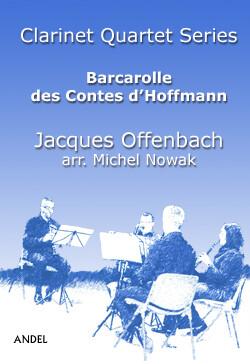 Barcarolle des Contes d'Hoffmann - Jacques Offenbach - arr. M. Nowak