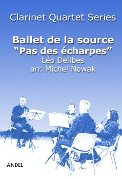 Ballet de la source - Pas des écharpes - Léo Delibes - arr. M. Nowak