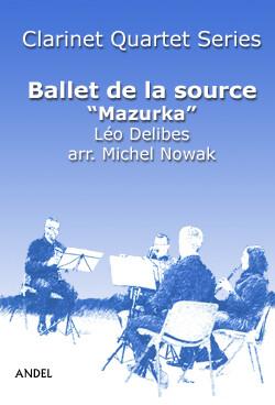 Ballet de la source - Mazurka - Léo Delibes - arr. Michel Nowak