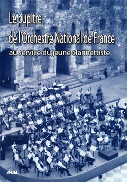 Le pupitre de l'orchestre national de France