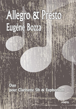Allegro & Presto - E. Bozza - Bb Clarinet & Euphonium - rév. M. Nowak