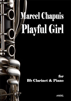 Playful Girl - Marcel Chapuis