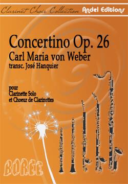 Concertino Op. 26 C.M. von Weber - arr. José Hanquier