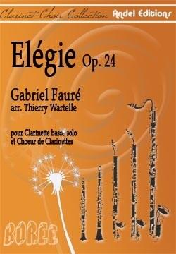 Elégie - Gabriel Fauré - arr. Thierry Wartelle